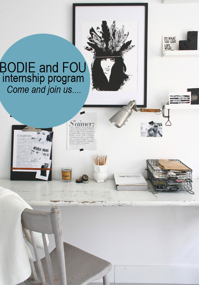 PR Marketing Assistant Internship At BODIE And FOU