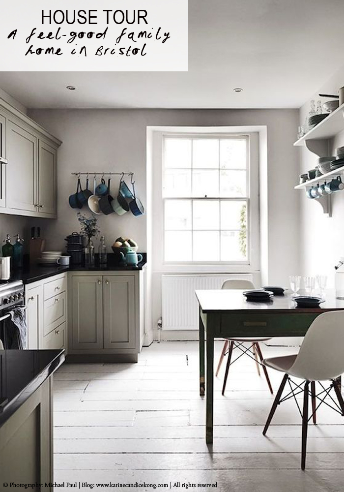 a feel-good home in soft hues of greys in Bristol