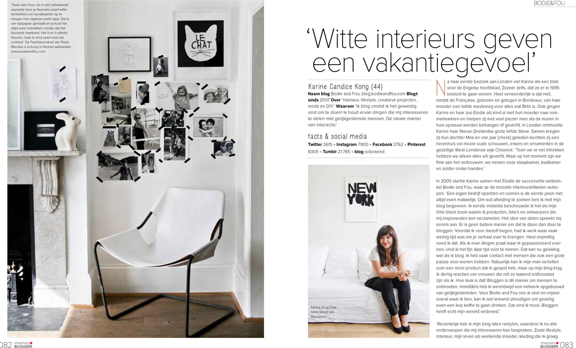 My home featured in the VT Wonen Special Edition