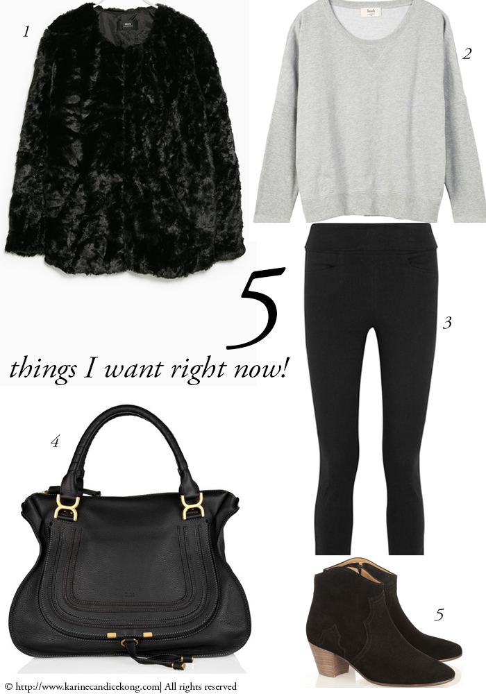 5 THINGS I WANT RIGHT NOW! 06/02/2015