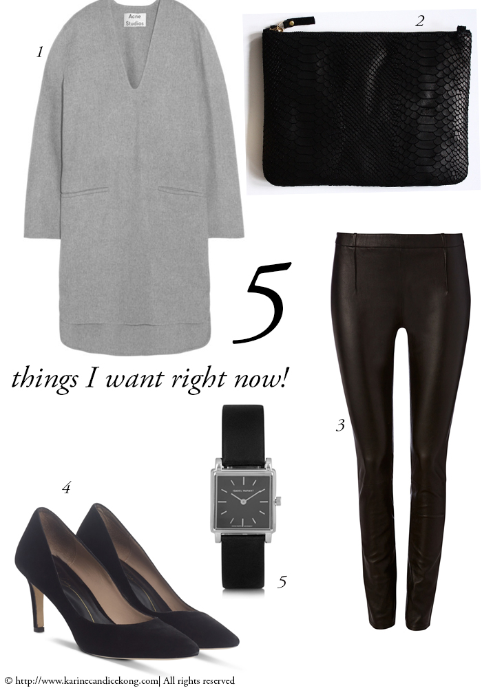 5 THINGS I WANT RIGHT NOW! 06/03/2015