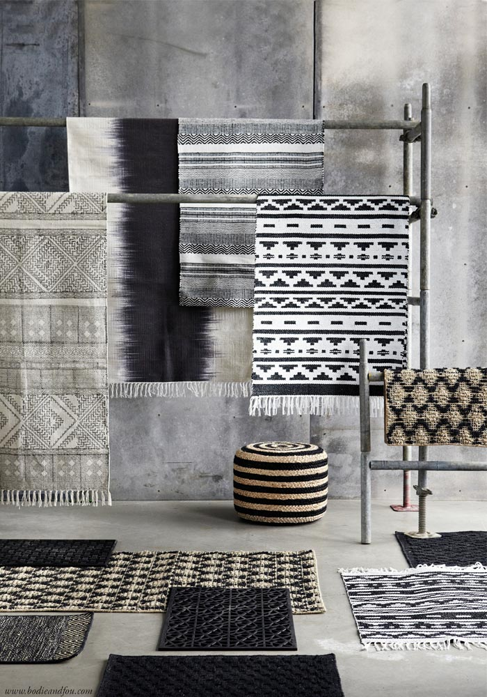 BODIE and FOU AW15 Rugs collection. Read on >> www.karinecandicekong.com Perfect piece to add textures to your home
