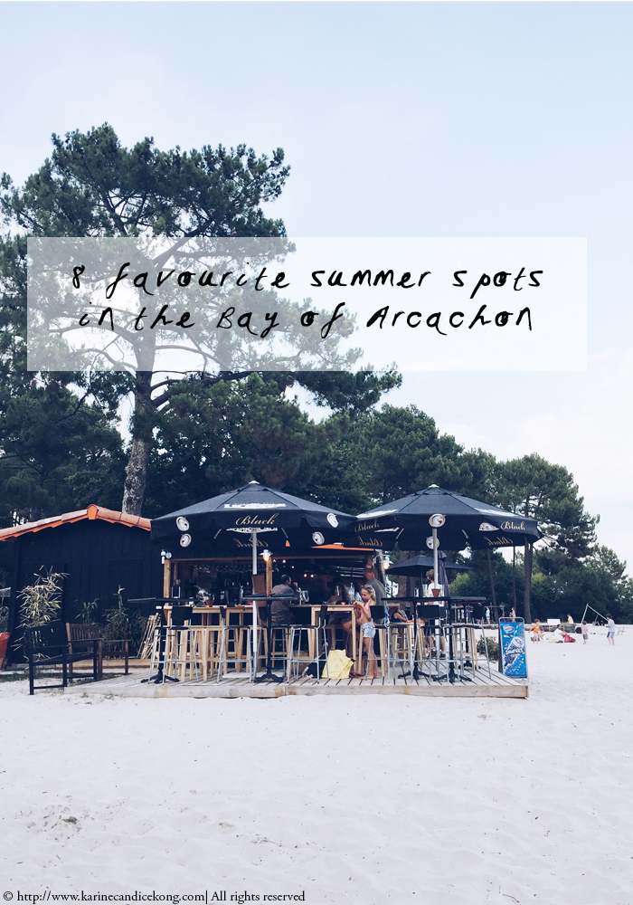 8 favourite Summer spots in the Bay of Arcachon. Read on www.karinecandicekong.com