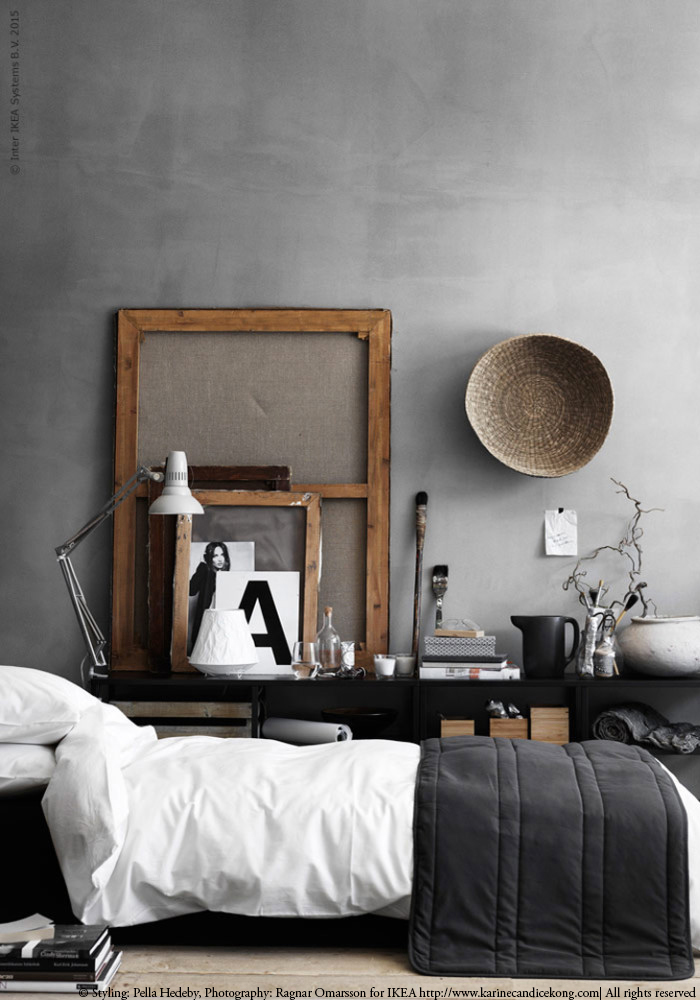 Beautiful bedroom styled by Pella Hedby. Read on www.karinecandicekong.com
