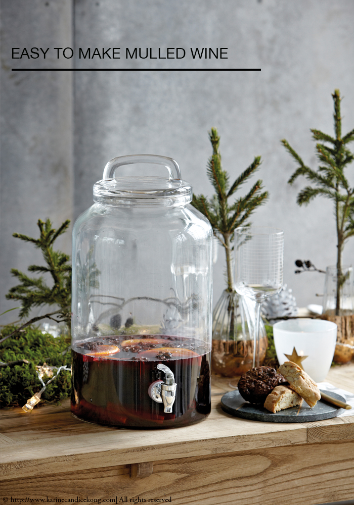 Easy to make mulled wine recipe (20 min top!). Read on www.karinecandicekong.com