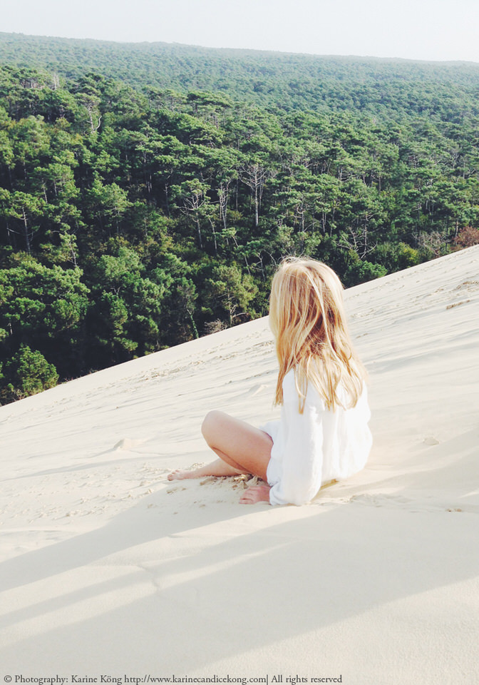 Dune du Pyla, France. Voted 2nd best beach in the world by The Guardian. (C) Photography: Karine Köng
