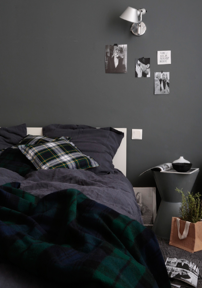 How to decorate your home with tartan