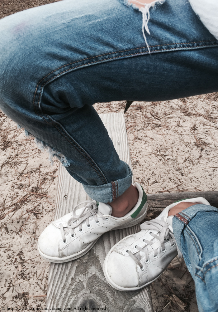 denim & Stan Smith