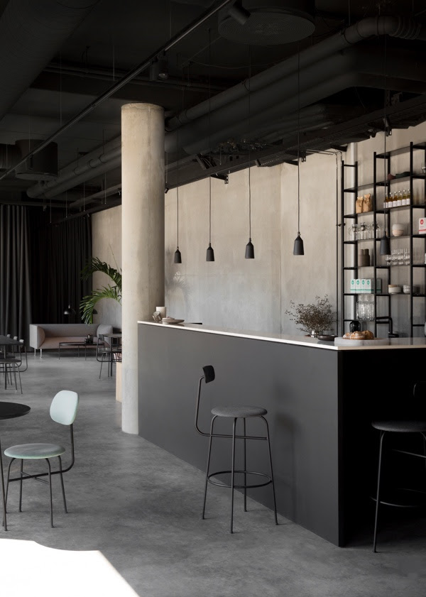 Menu space in Copenhagen by Norm Architects