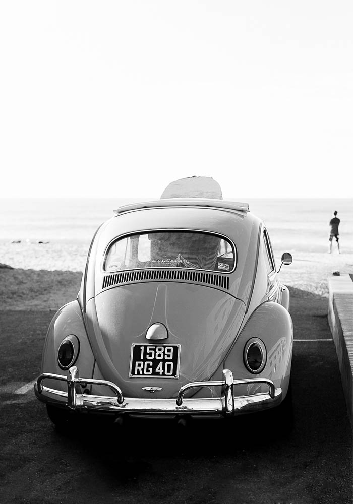 weekend: let's go surfing in VW beetle